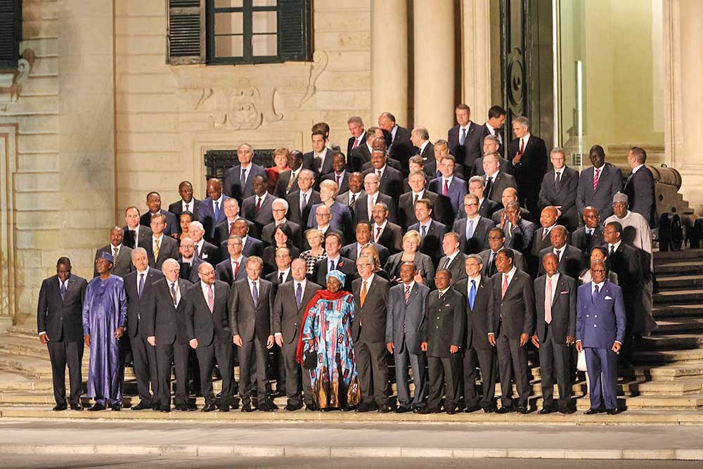 Международный саммит по проблеме мигрантов