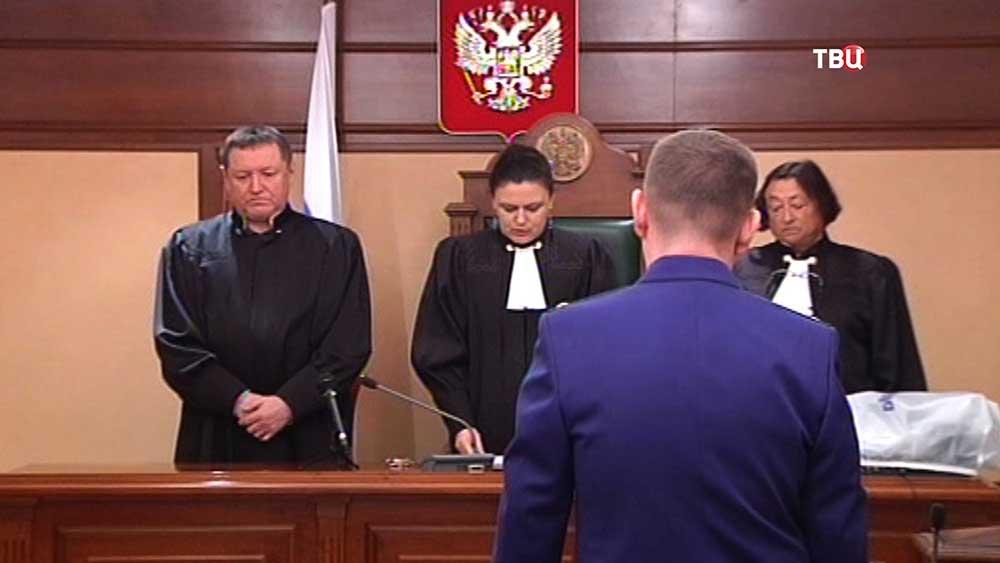Суд над бывшим сотрудником ГУ МВД по Подмосковью Евгением Чистовым признанным виновным в шпионаже в пользу США