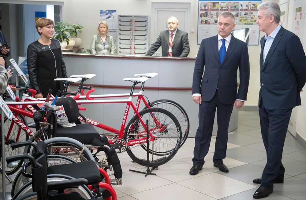 Сергей Собянин посетил Московское училище олимпийского резерва
