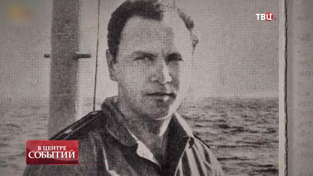 Советский офицер Военно-морского флота Валерий Саблин