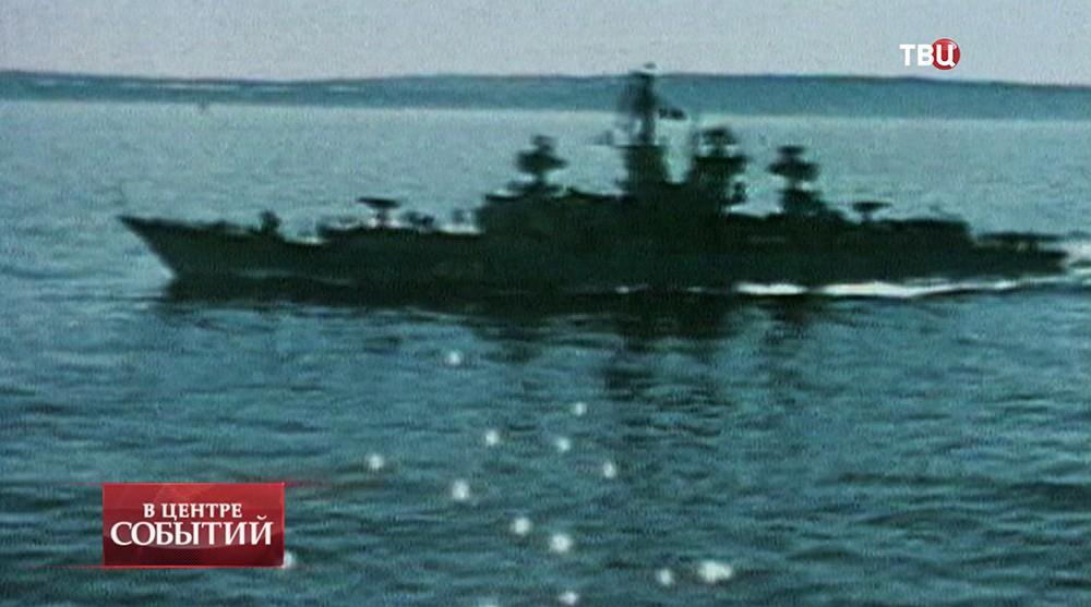 """Большой противолодочный корабль """"сторожевой"""""""