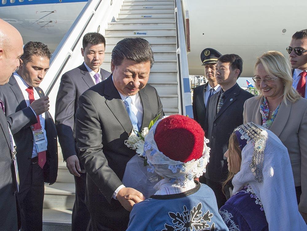 Председатель КНР Си Цзиньпин прибыл на саммит