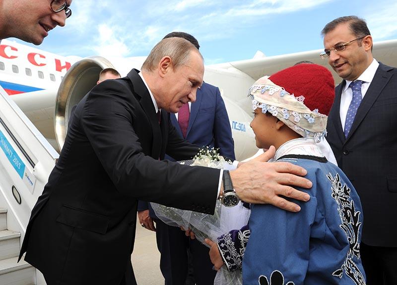 Президент России Владимир Пуин прибыл на саммит G20 в Турцию
