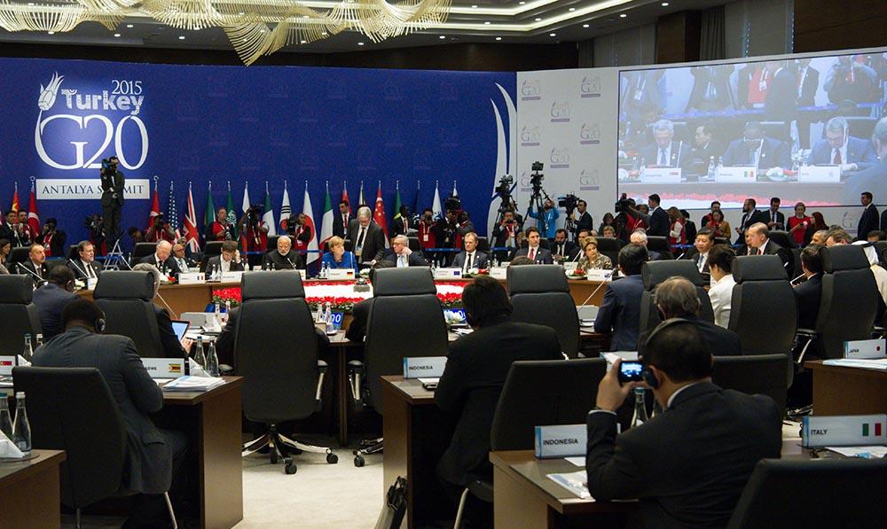 Саммит G20 в Турции