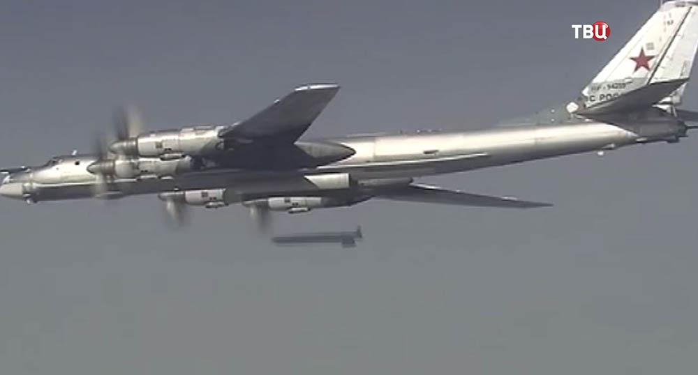 Самолет ТУ-95МС