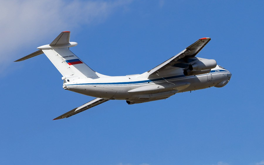 Ил-76 ВВС России