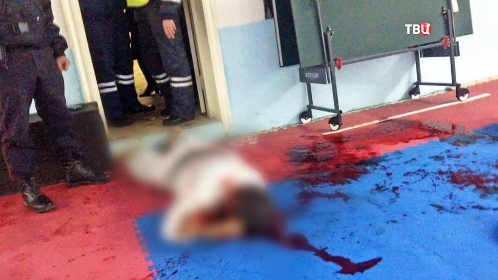 Тело убитого тренера по карате в Саратове