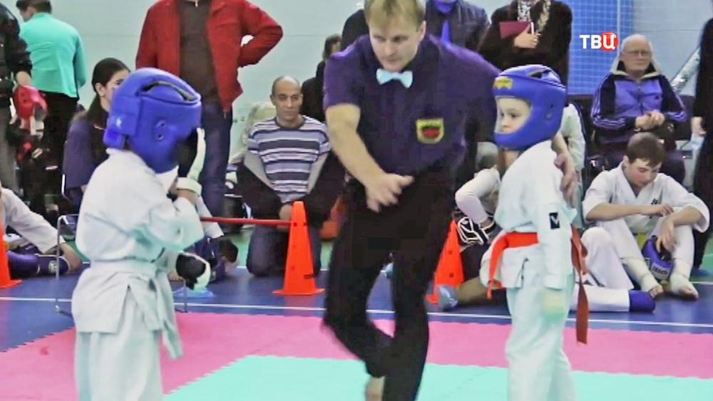 Детская секция по карате