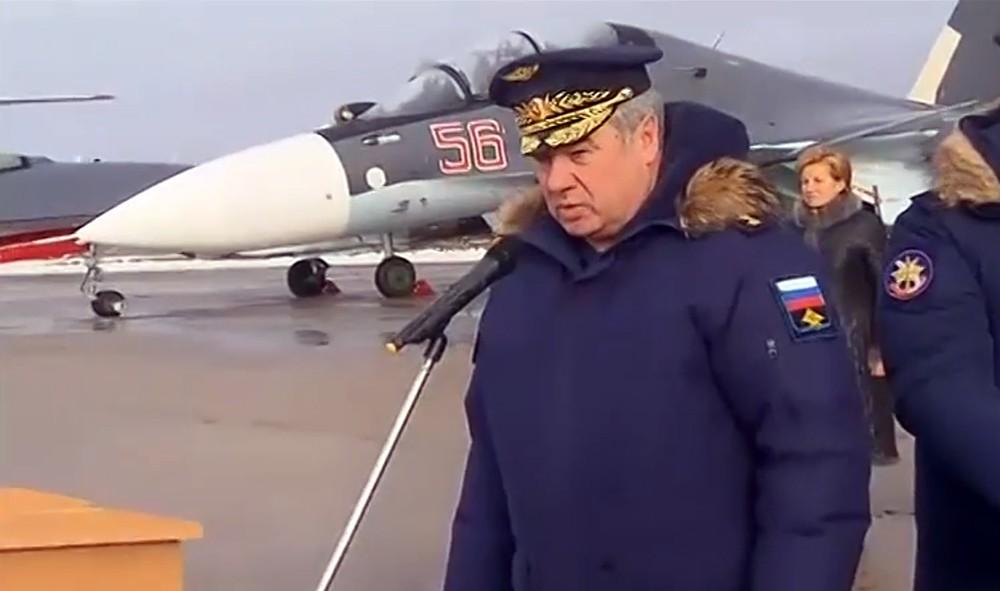 Главком ВКС России Виктор Бондарев