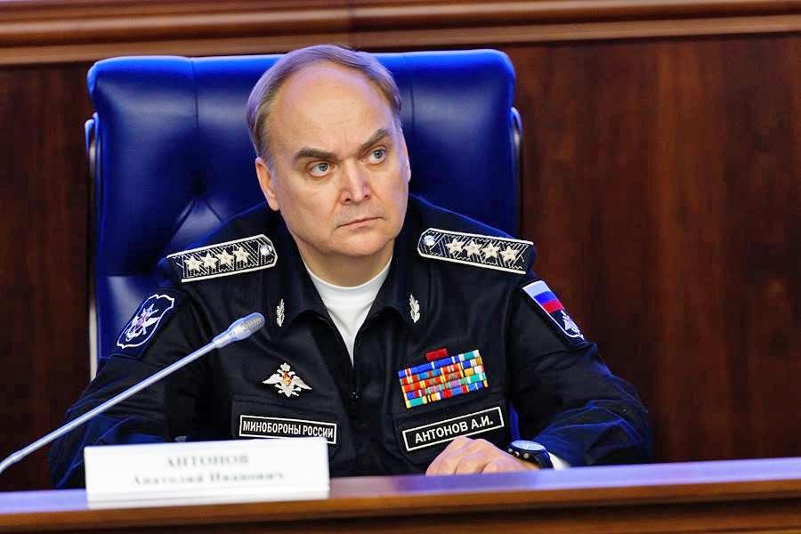 Замминистра обороны РФ Анатолий Антонов