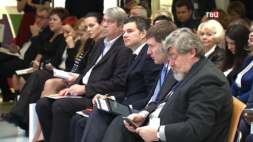 Участники заседания Общественной палаты