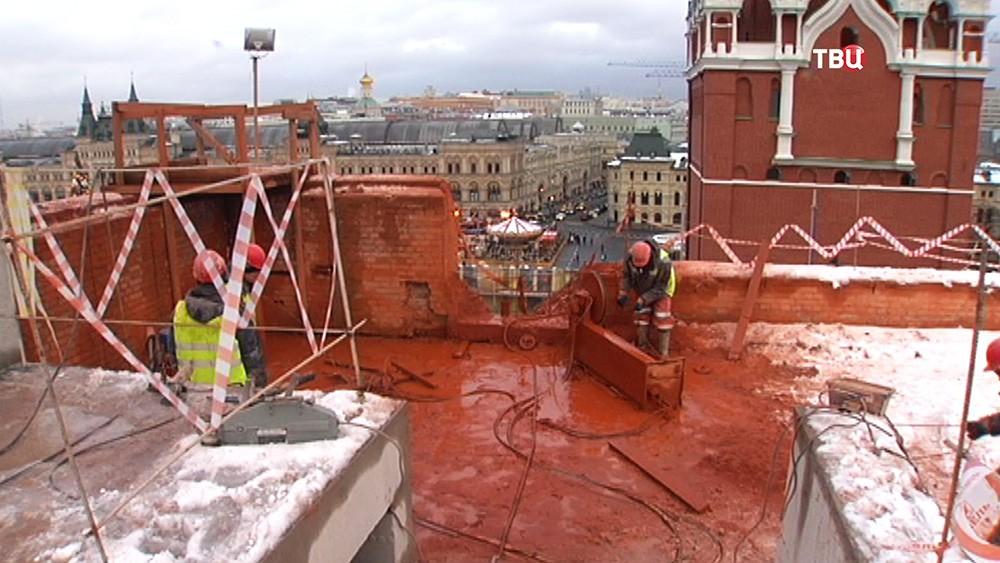 Реконструкция Кремля