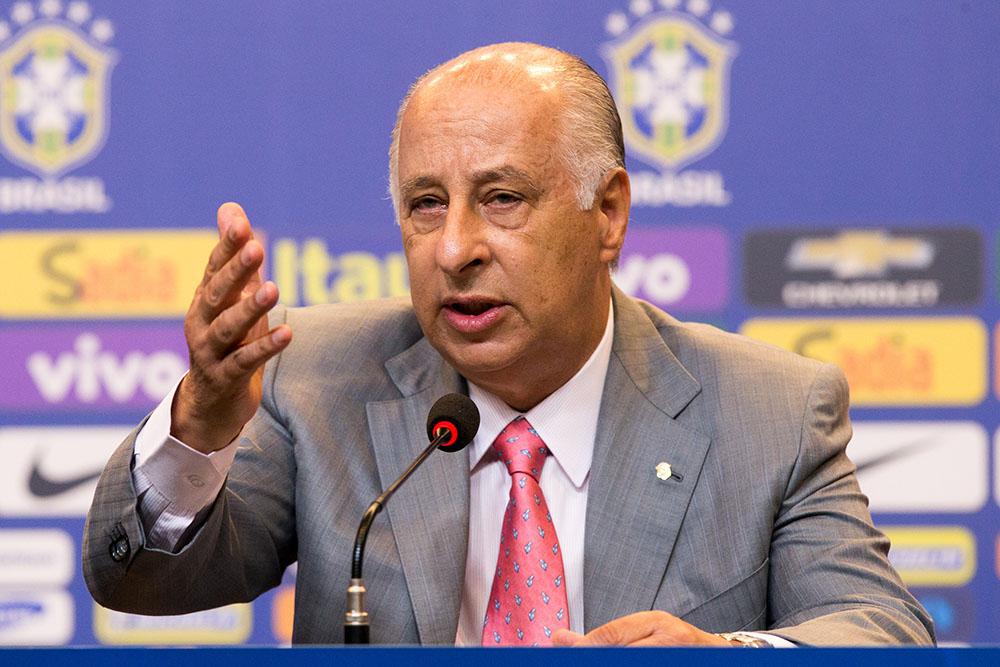 Президент федерации футбола Бразилии Марко Поло дель Неро