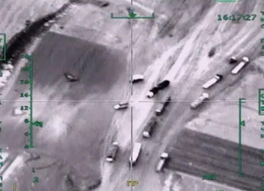 Бензовозы в Сирии