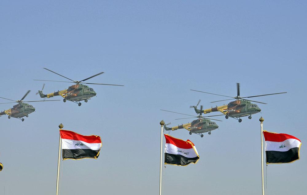 Вертолёты Иракской армии