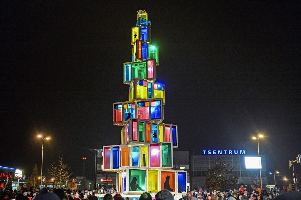 Рождественская ель в Эстонии
