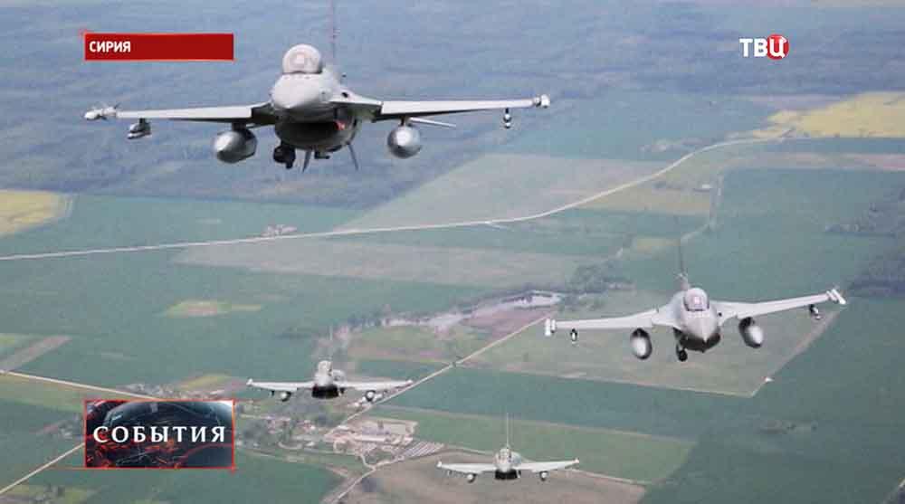 Истребители F-16