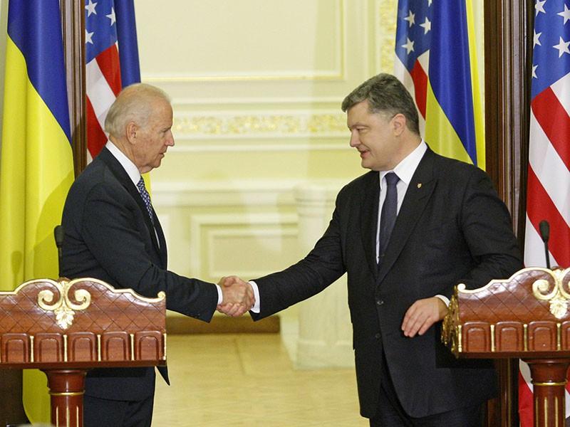 Джозеф Байден прибыл на Украину с двухдневным визитом