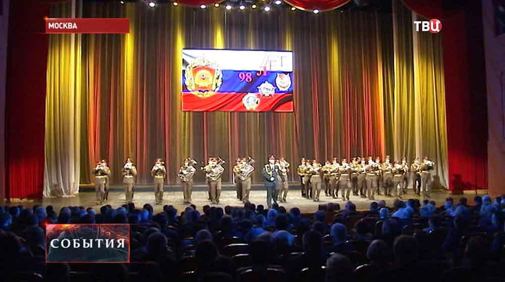 Концерт по случаю 98-летия Высшего командного училища