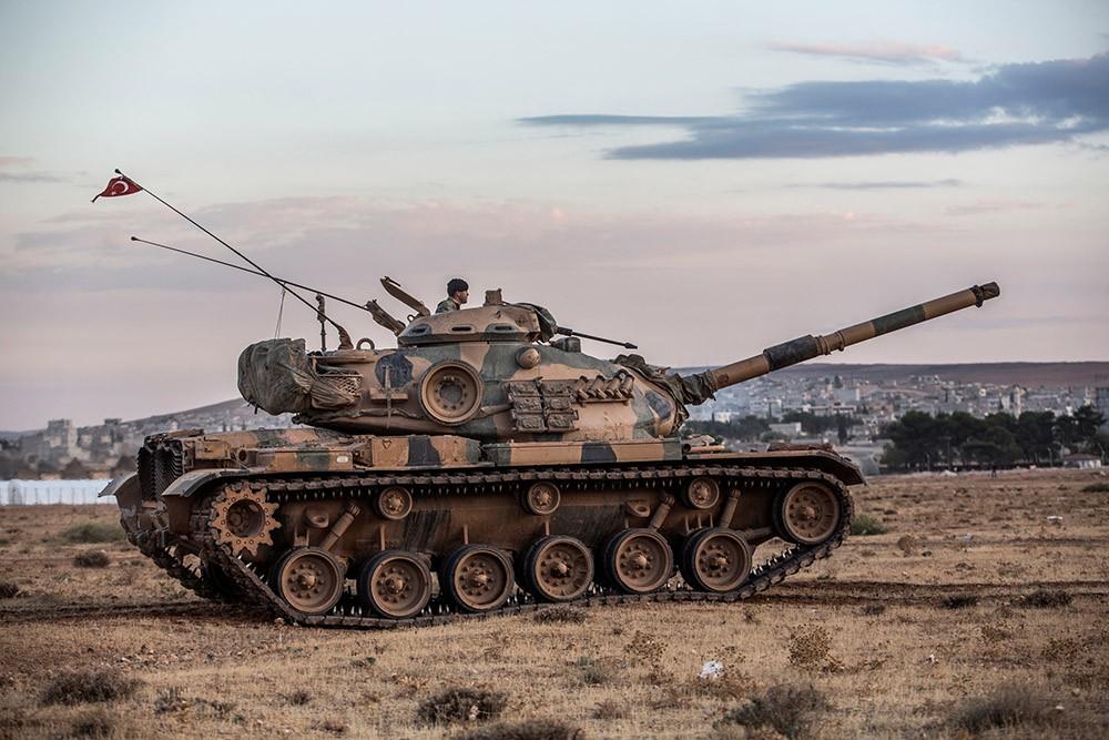 Танк турецкой армии