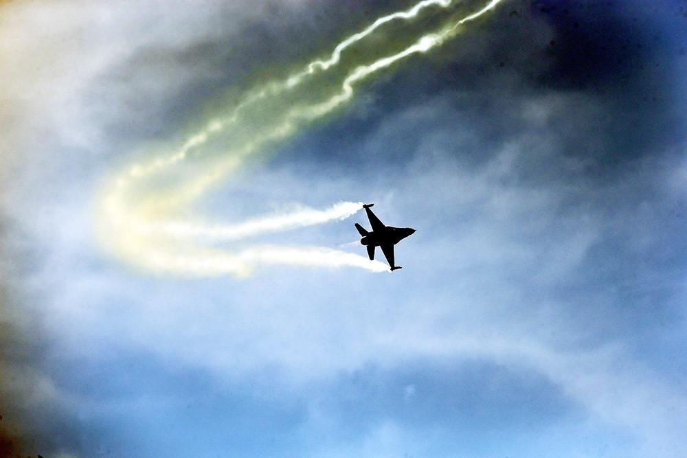 Истребитель F-16 ВВС Турции