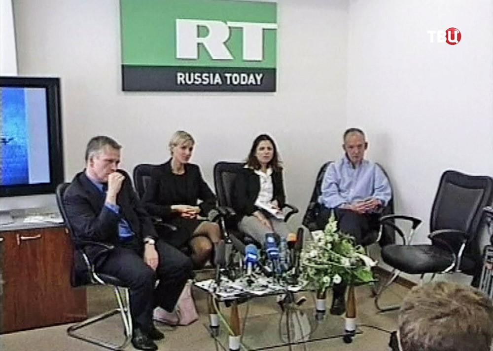 Начало вещания телеканала Russia Today