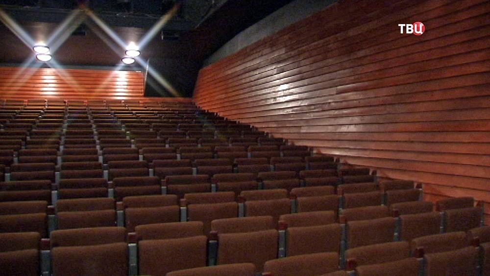 Зрительный зал в Театре на Таганке