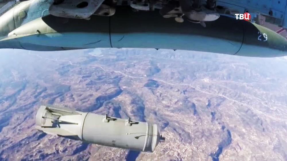 Авиаудары по позициям ИГ