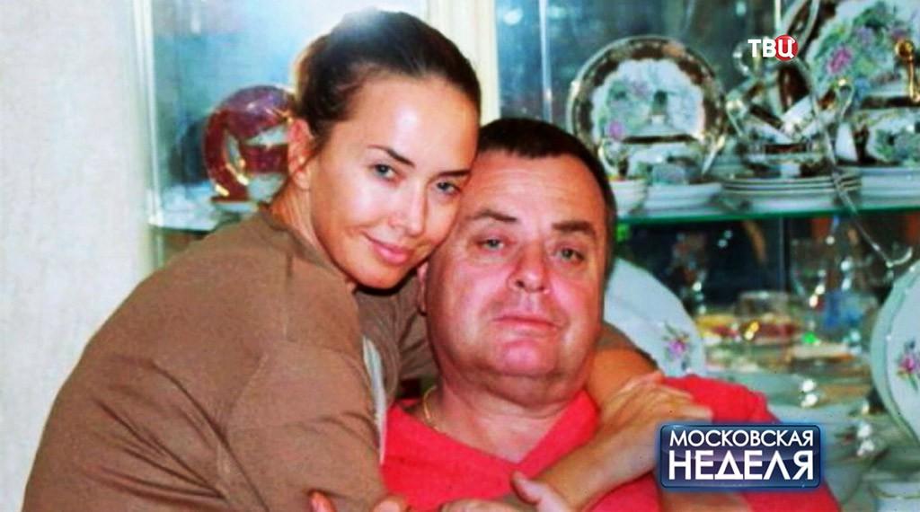 Жанна Фриске и ее отец Владимир Фриске