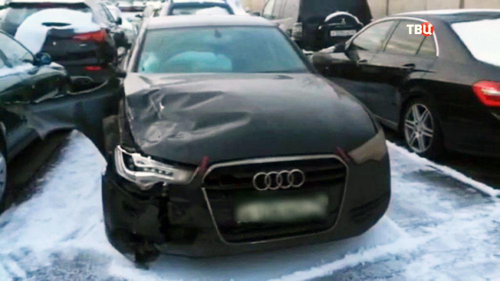 Автомобиль виновника ДТП