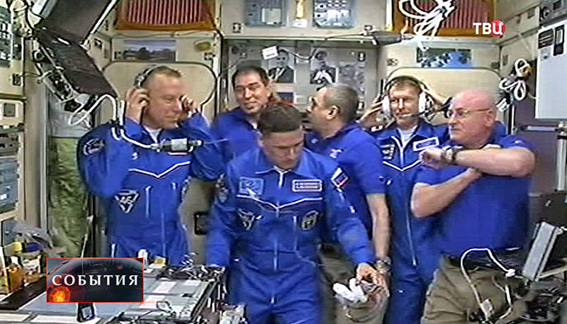 "Экипаж ""Союза"" перешел на борт МКС"