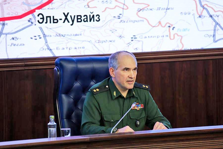 Начальник главного оперативного управления Генштаба Российской Федерации Сергей Рудской