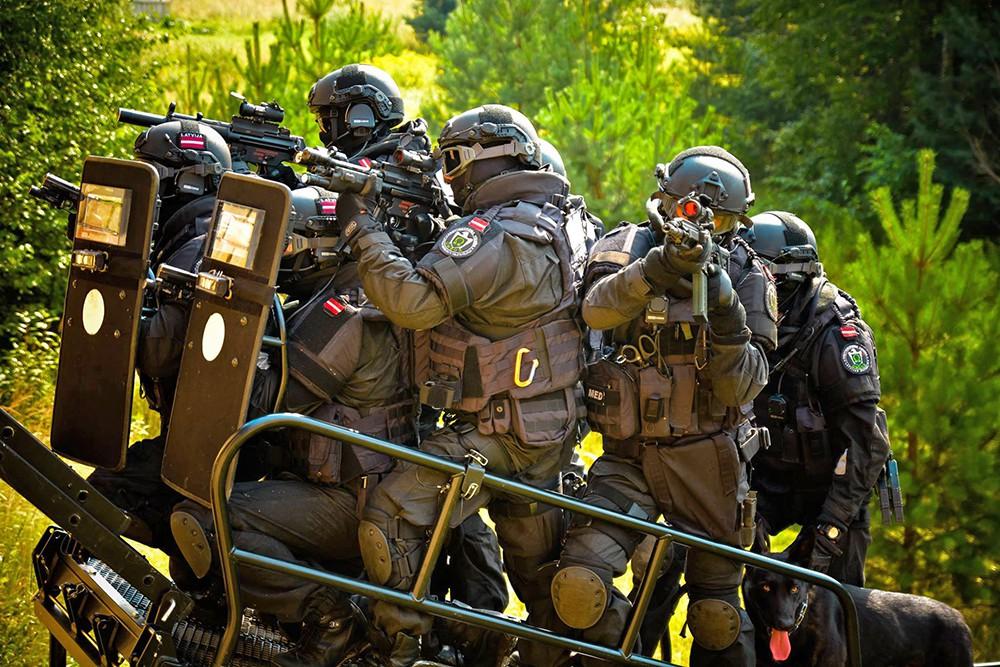 Спецназ европейской полиции