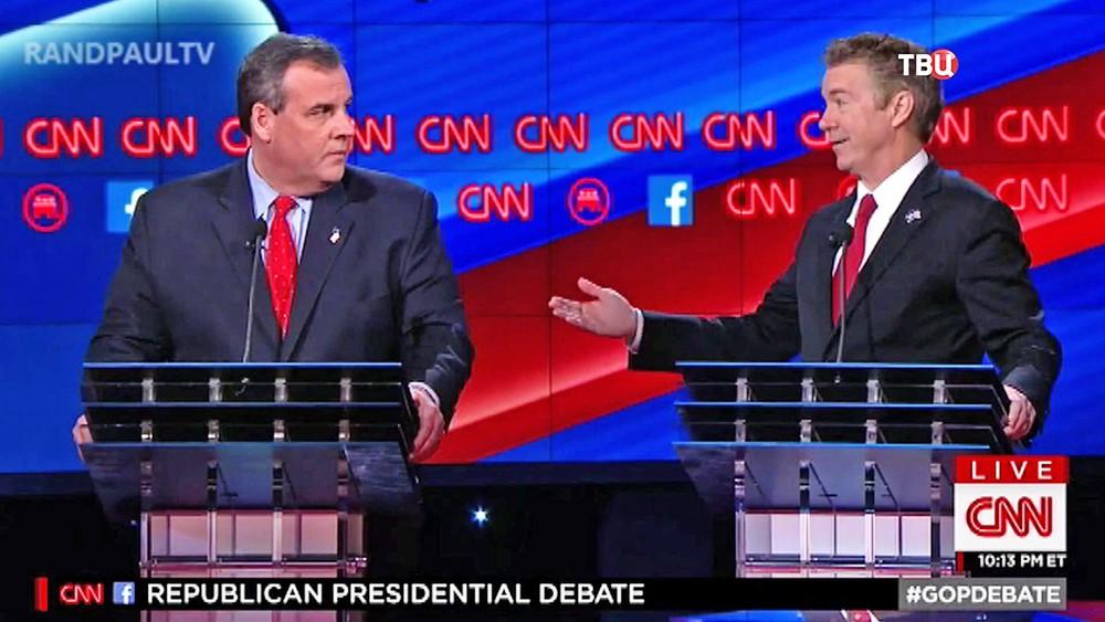Политические дебаты кандидатов в президенты США