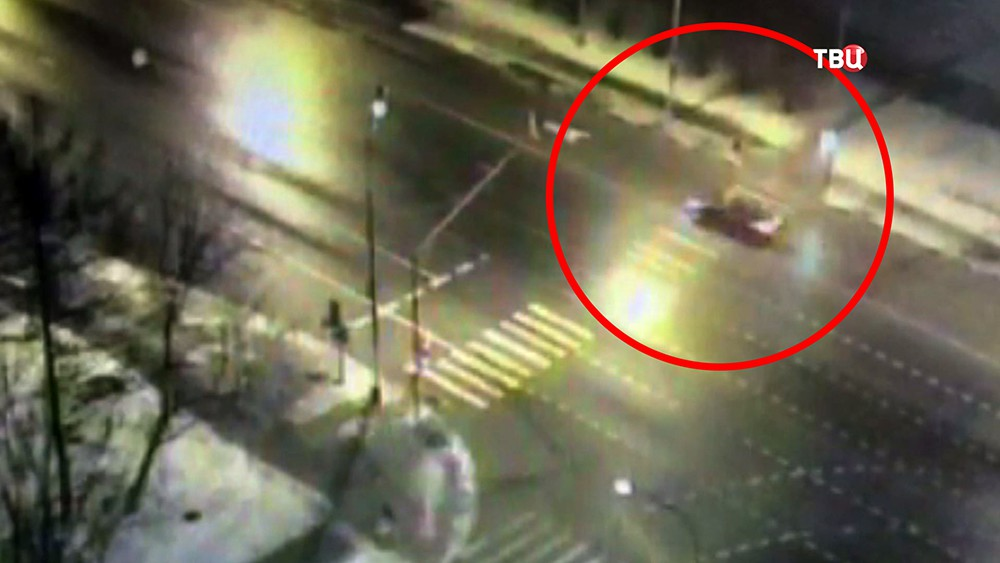 Видео ДТП на пешеходном переходе