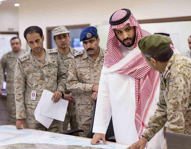 Министр обороны Саудовской Аравии Мухаммед бен Сальман