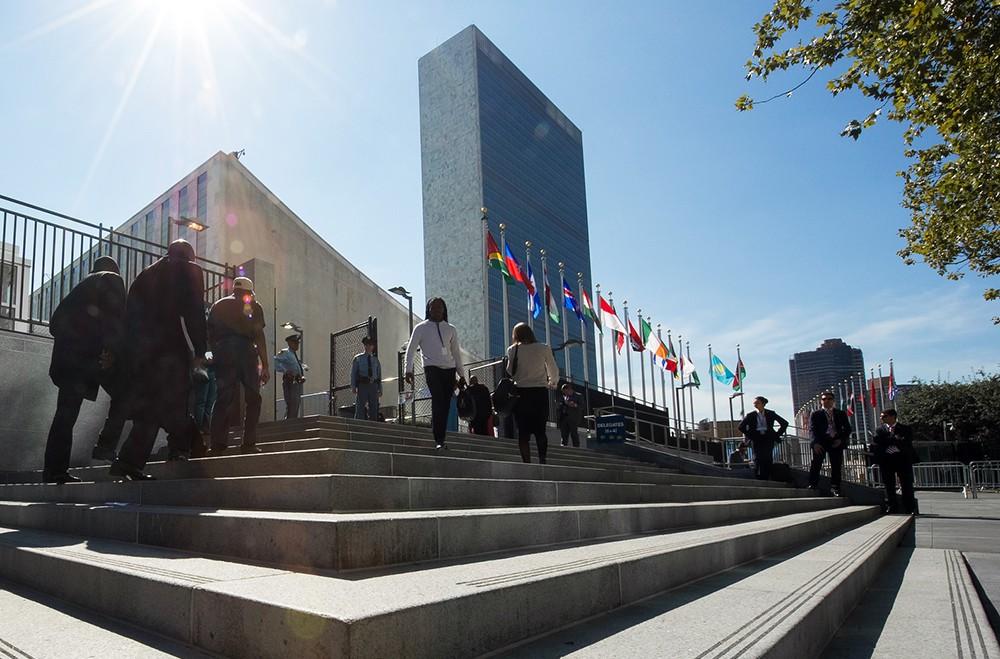 Штаб-квартира ООН в Нью-Йорке