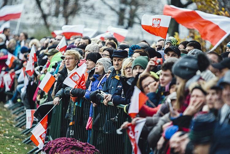 Жители Польши