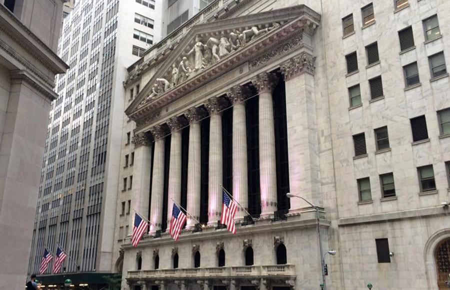 Здание Нью-Йоркская фондовой биржи