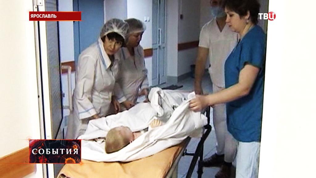 Отравление в детской больнице