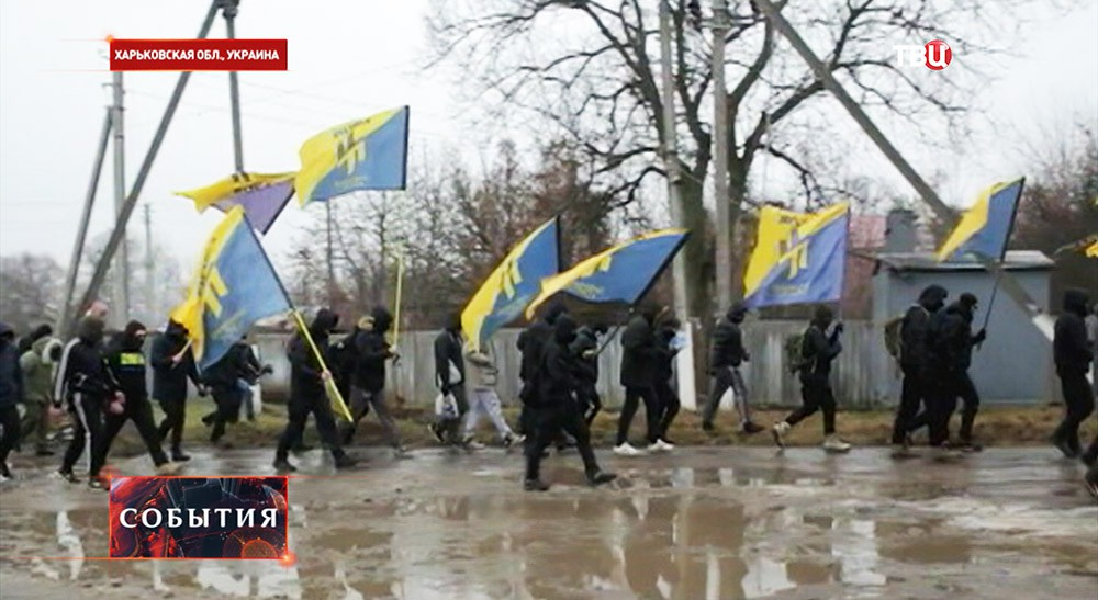 """Экстремисты полка """"Азов"""""""
