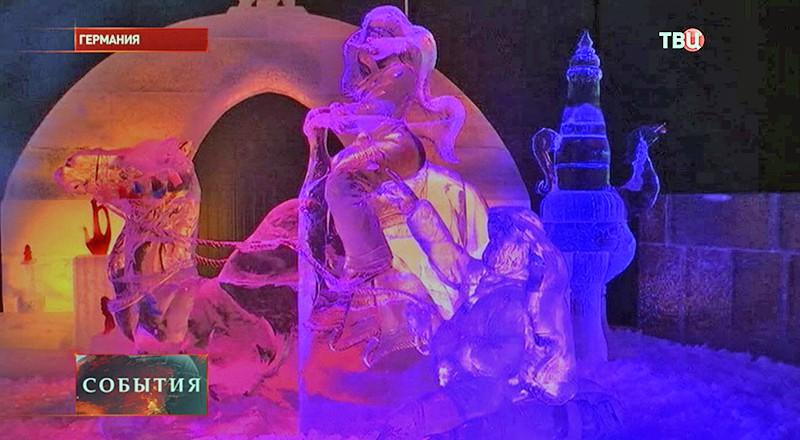 """Ледяной город """"Тысяча и одна ночь"""" в Германии"""