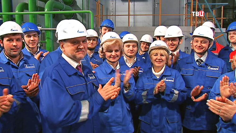 """Рабочие компании """"Газпром"""""""