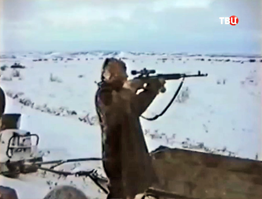 Охотник в Тундре