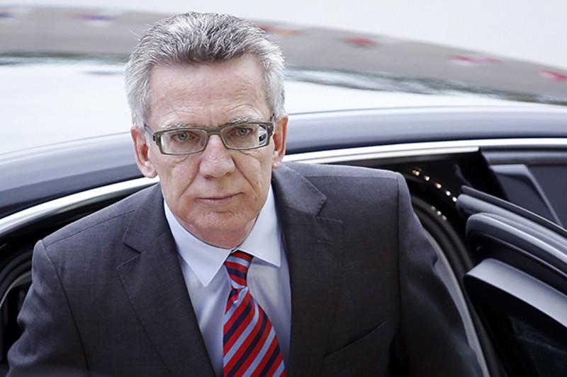 Министр внутренних дел Германии Томас де Мезьер