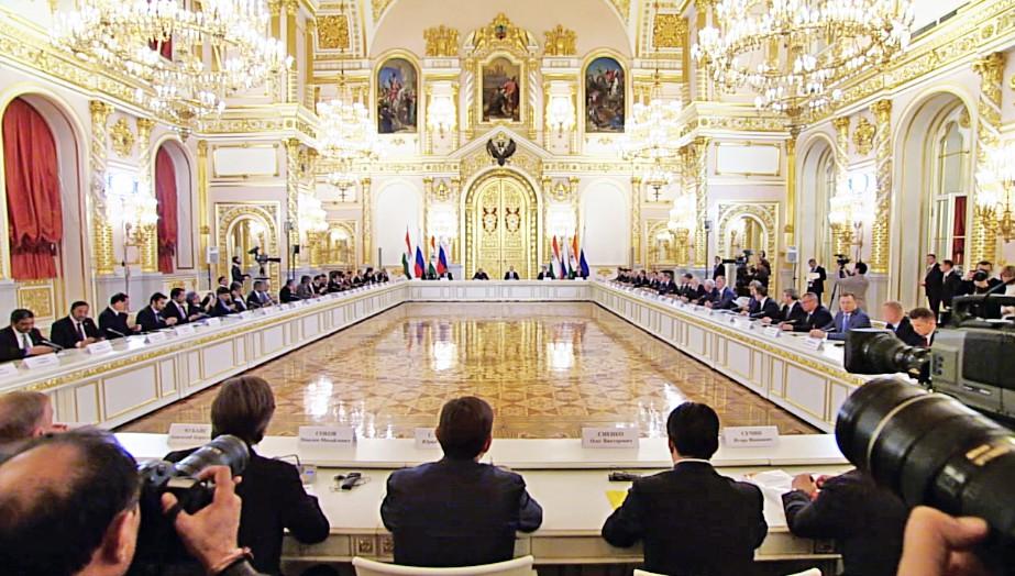 Встреча с представителями деловых кругов России и Индии