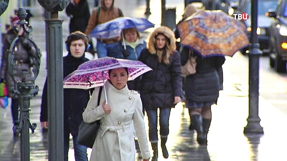 В столицеРФ доконца марта будет холодно