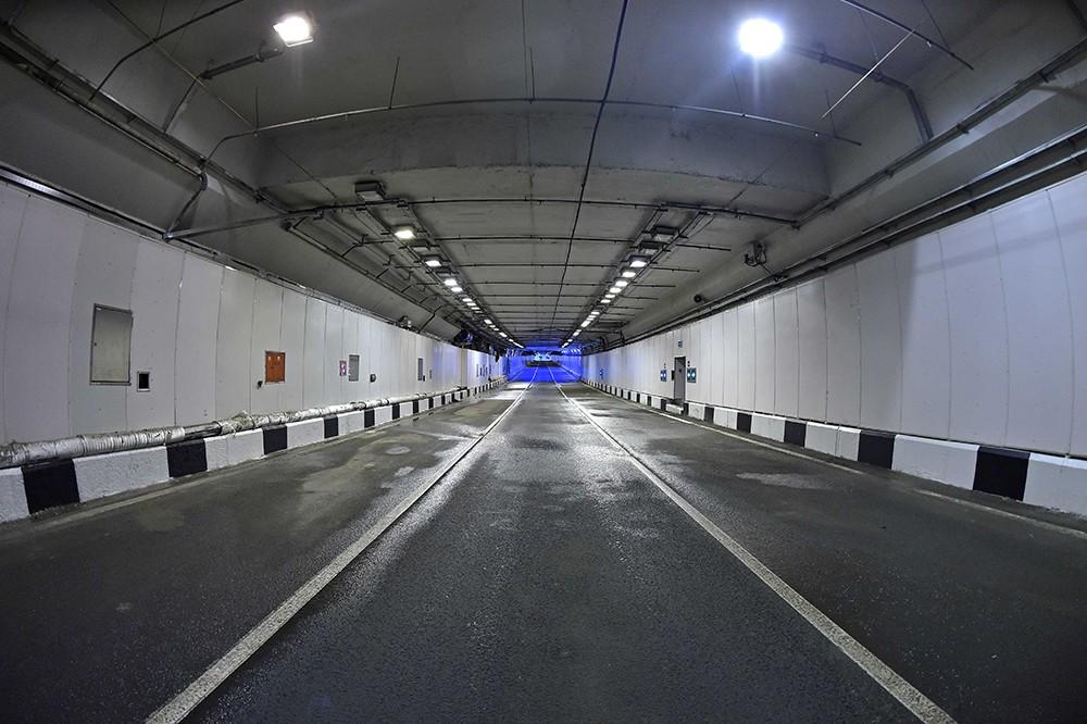 Открытие Алабяно-Балтийского тоннеля