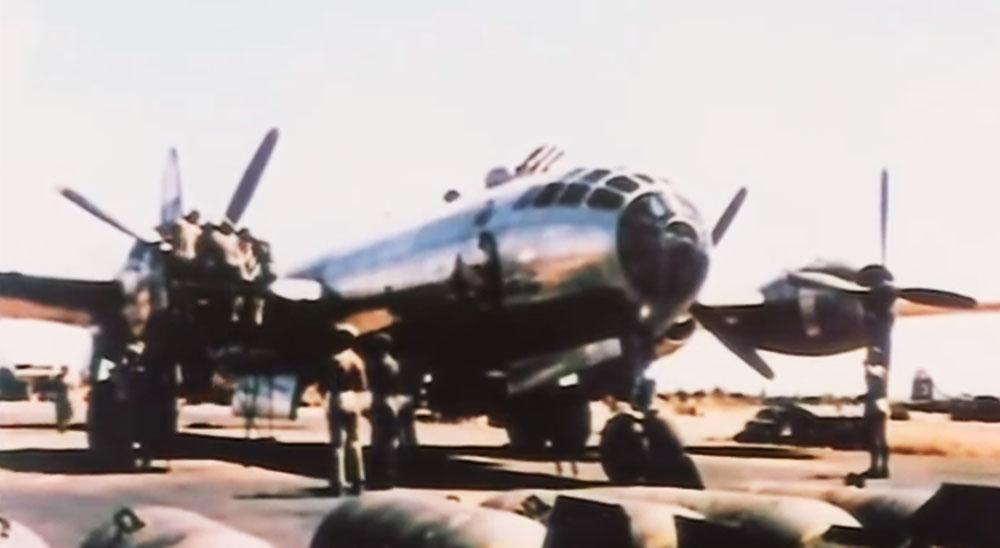 Старые кадры ВВС США