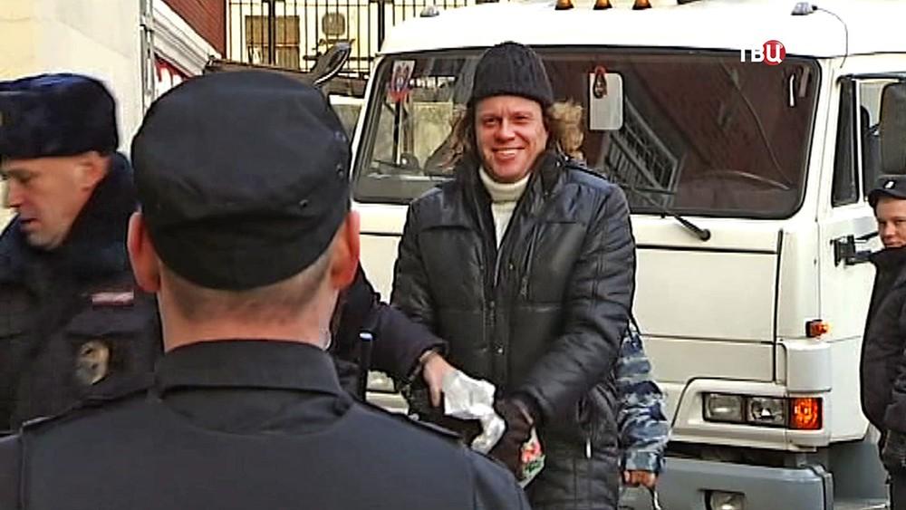 Бизнесмен Сергей Полонский под арестом